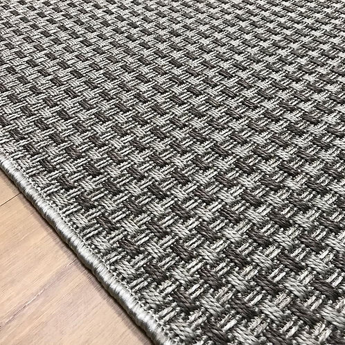 Paris Flatweave Grey 120x170cm