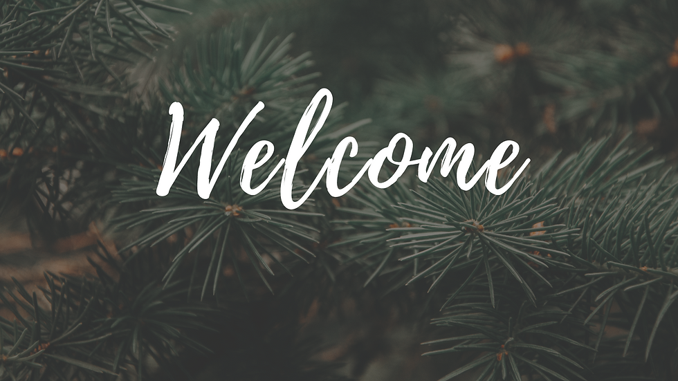 Welcome-December