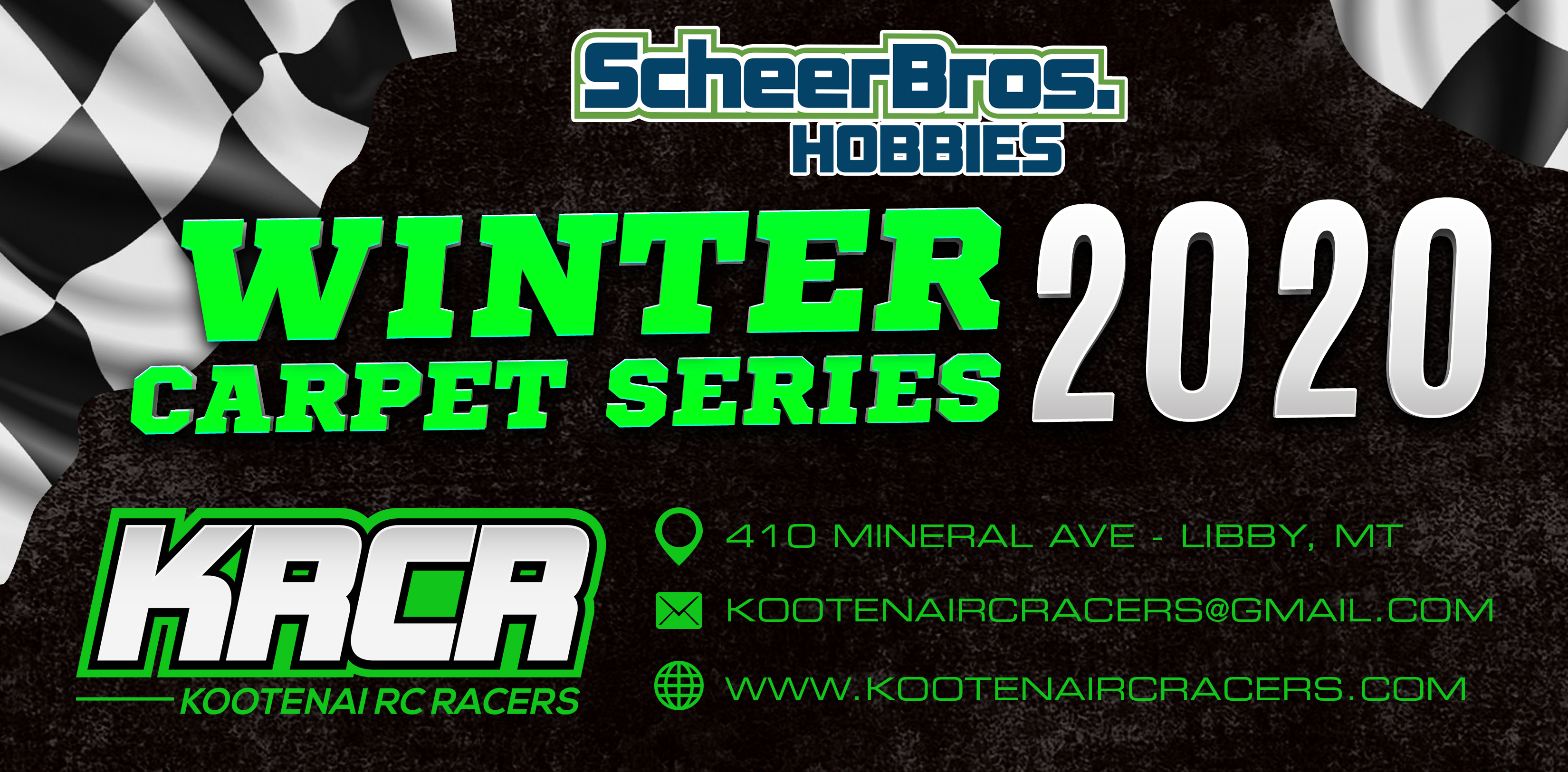 KRCR Winter Carpet Series Header