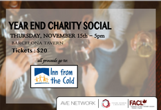 Second Annual Year End Charity Social!