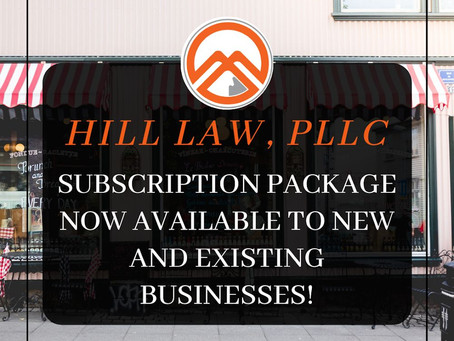 Subscription package now available to new and existing businesses!