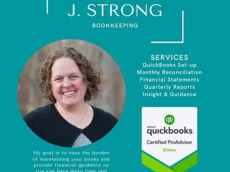 Client Highlight - J. Strong Bookkeeping, LLC