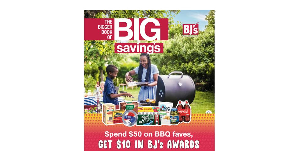 BJ's Wholesale Club Memorial Day Wknd Promo / Member Catalog