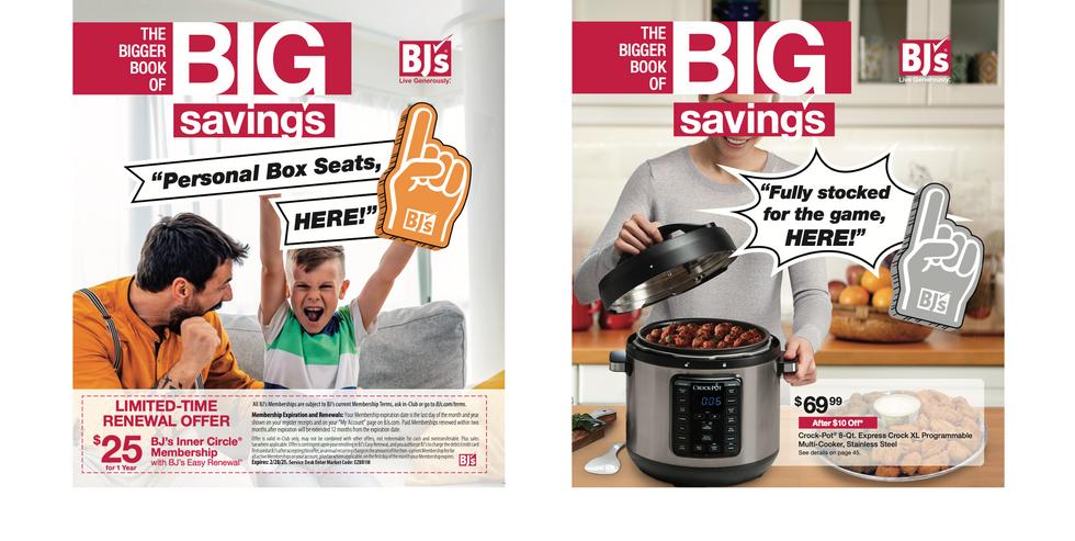 BJ's Wholesale Club February / Member Catalog