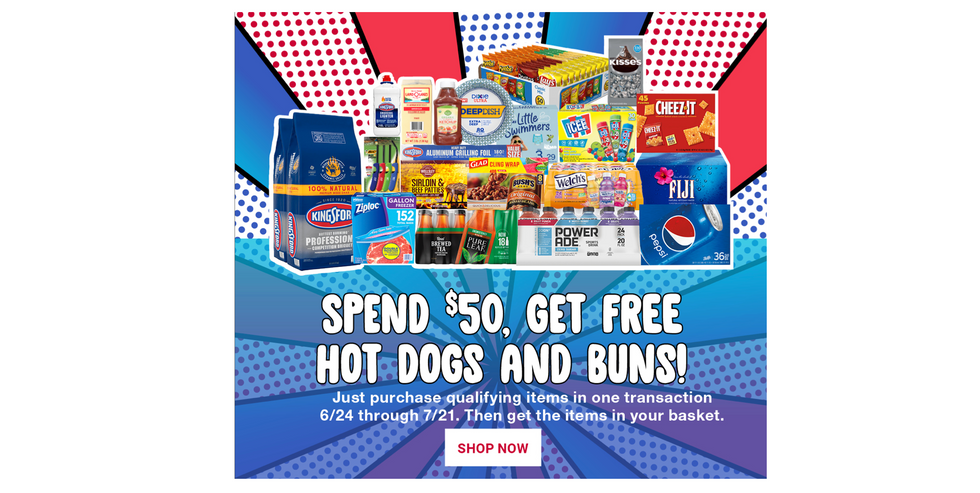 BJ's Wholesale Club 4th of July FREE Dogs & Buns Promo / Email