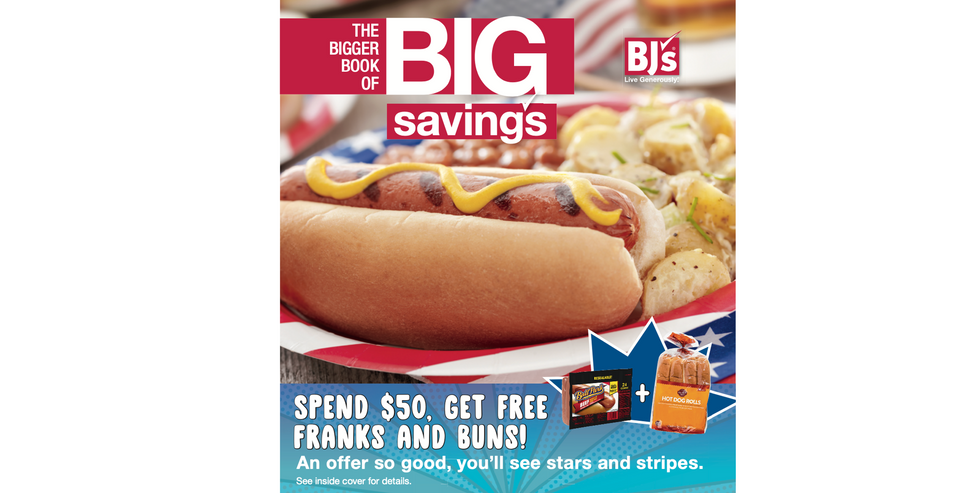 BJ's Wholesale Club 4th of July Promo / Member Catalog
