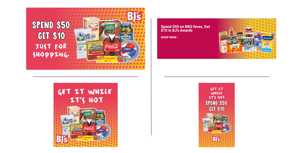 BJ's Wholesale Club Memorial Day Promo / Email