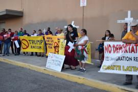 Vigil for victim for El Paso Shootings .