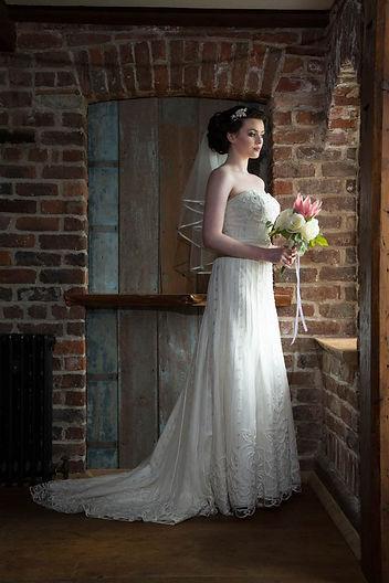 Bride in Ballydugan Mill Wedding