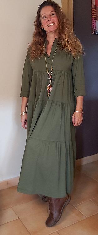 Robe Chanida longue coton