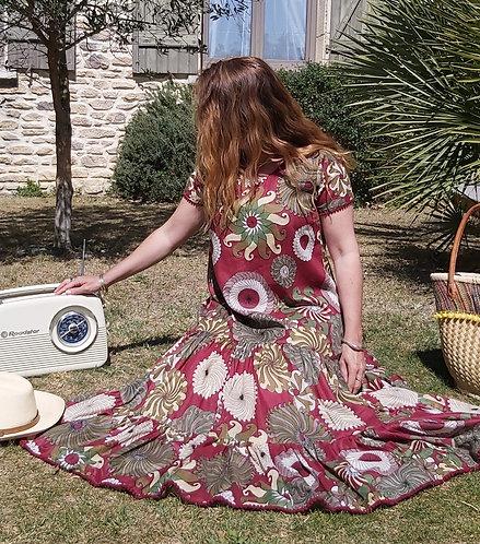 Robe Maria Rouge