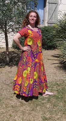 Robe Maria Orange