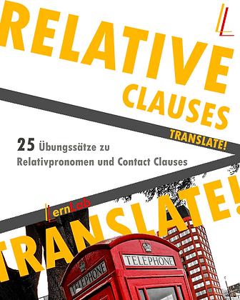 TRANSLATE! Relative Clauses