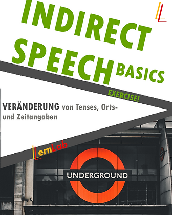 EXERCISE! Indirect Speech Basics