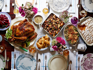 DRESS ACCORDINGLY - What to wear to eat Thanksgiving Dinner...ALL OF IT