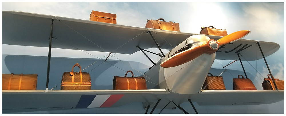 Carry on bags designed to fit dimensions underneath the pilot seat.