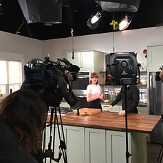 On set: Mary's Kitchen Crush