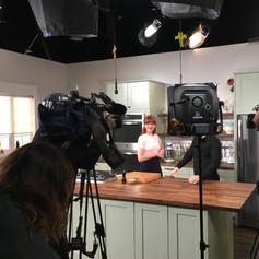 On set: Mary's Kitchen Crush