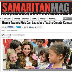 Shania Kids Can Charitable Foundation