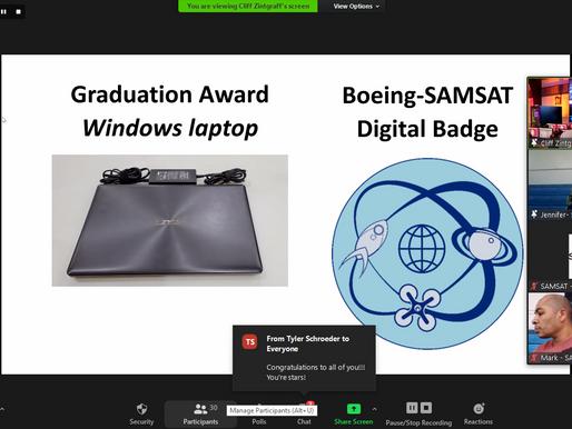 Boeing SAMSAT Academy First Cohort Graduates