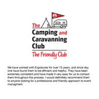 Camping Club testimonial