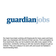 Guardian Jobs testimonial