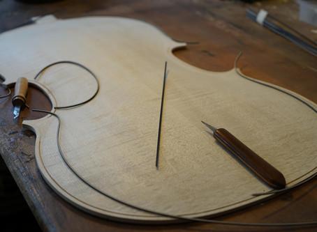 Fabrication d'un Violoncelle - 2015 (2)