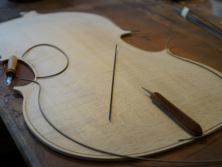 Fabrication d'un Violoncelle - 2015 (2)