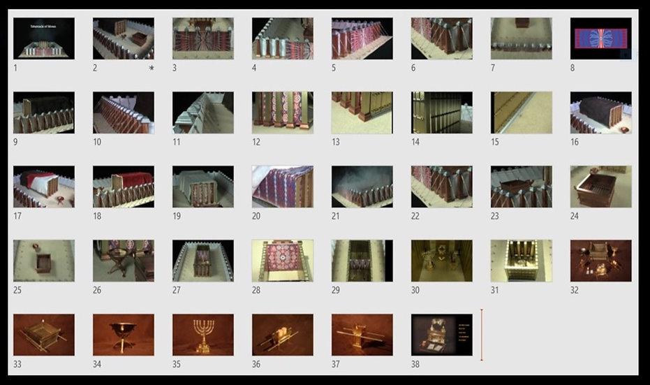 Tabernacle of Moses Model - Media Pack 2