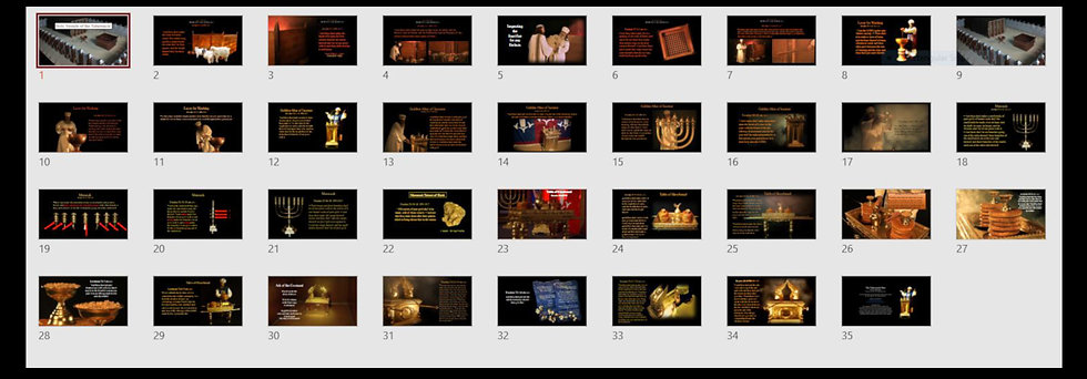 Holy Vessels of the Tabernacle Media Pack  4