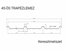 T45-trapézlemez