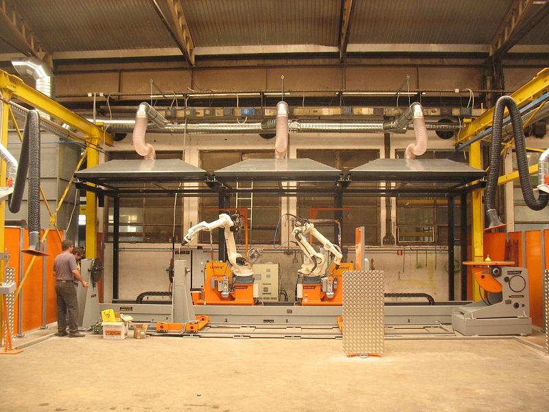 CAADEX - ROBOT-SCHWEIßEN UND PLASMAS