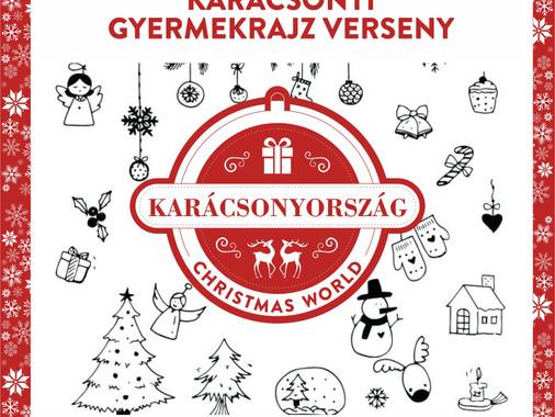 Karácsonyország - Gyermekrajz verseny 2018