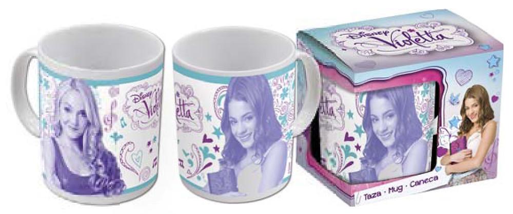 Disney termék - Violetta bögre - licenszes termékek