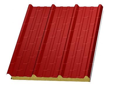 Ásvénygyapot (MW) tetőpanel szendvicspanel