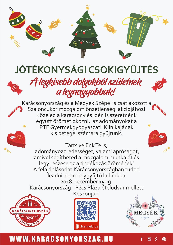 Karácsonyország - Csokigyűjtési akció