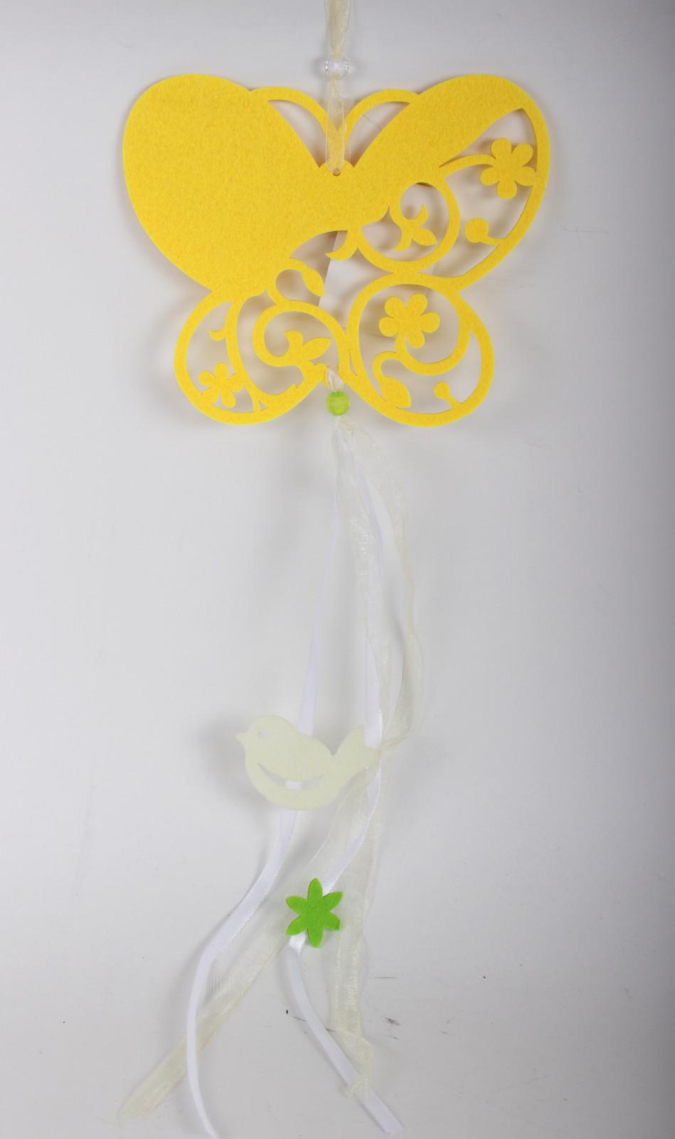 Tavaszi filc dekor - QX dekor nagyker