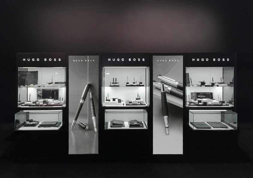 Hugo Boss- brand display