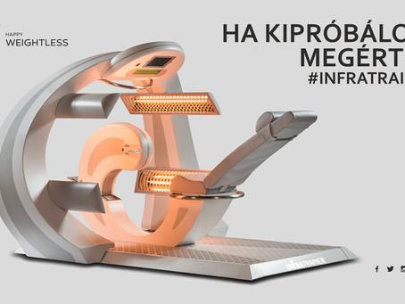Innovációs díjat nyert az Infratrainer