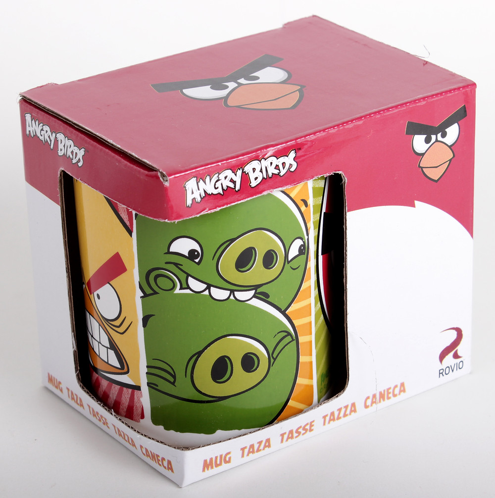 Angry Birds bögre - licenszes termékek