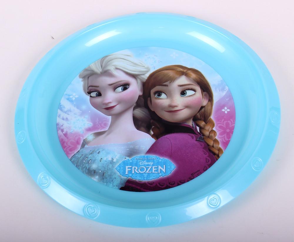 Licenszes termék - Disney - Frozen műanyag tányér