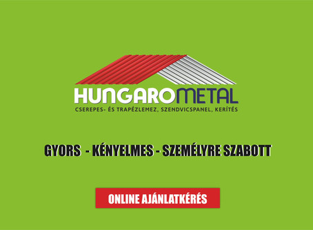 Trapézlemez - magyar gyártó kiváló terméke a HungaroMetalnál