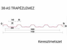 T38-trapézlemez