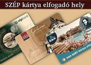 SZÉP kártya elfogadóhely lettünk (OTP, MKB, K&H)