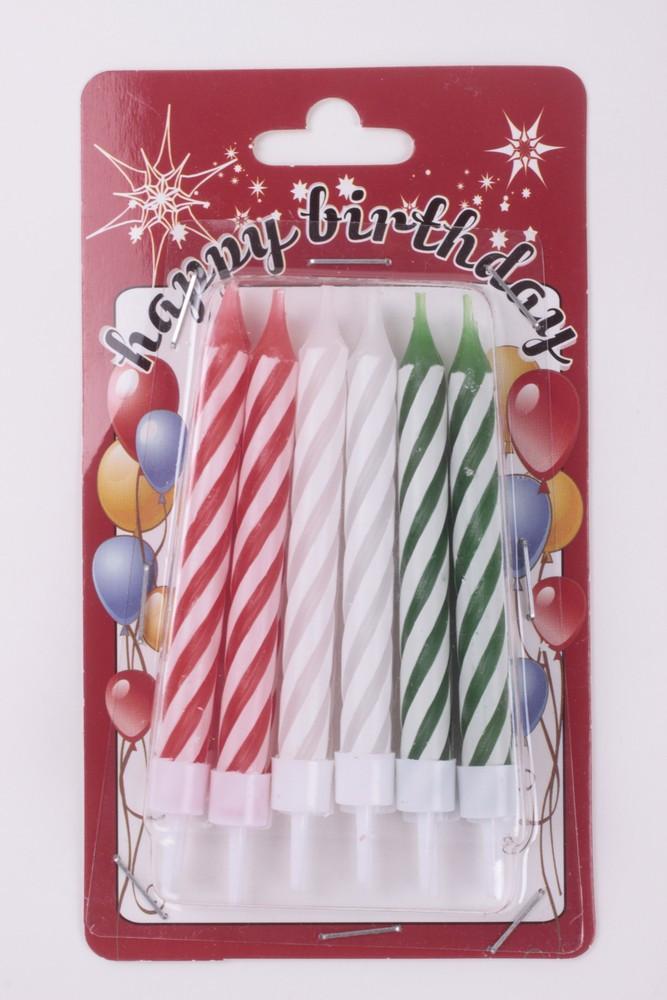 Születésnapi party kellék, születésnapi gyertya, tortagyertya