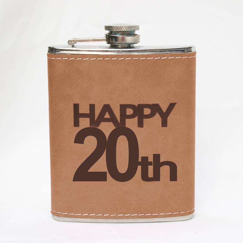 Fém laposüveg 20. születésnap