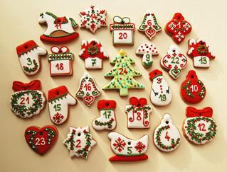 Mézes sütemény karácsonyfára