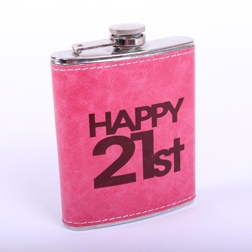 Fém laposüveg 21. születésnap