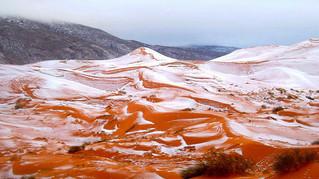 Á, semmi gond, csak esik a hó a sivatagban!