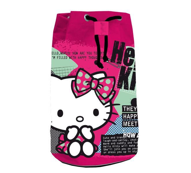 Hello Kitty tornazsák - licenszes iskolaszer nagyker